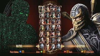 Mortal Kombat 9 Fatalities Matrix