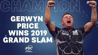 GERWYN PRICE IS THE 2019 GRAND SLAM CHAMPION