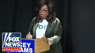 Oprah at Abrams rally: I'm not testing presidential waters