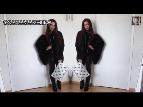 ❀ Get Ready With Me ❀ Total Look Black