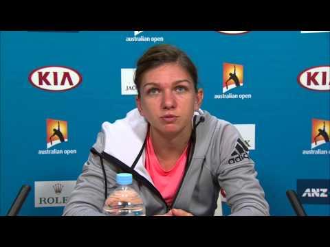 Simona Halep press conference (QF) - Australian Open 2015