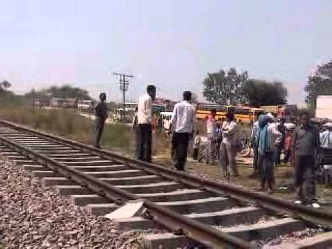 Mainpuri bhongao railway and road traffic