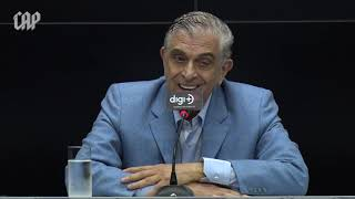 Coletiva Athletico Paranaense - Mario Celso Petraglia