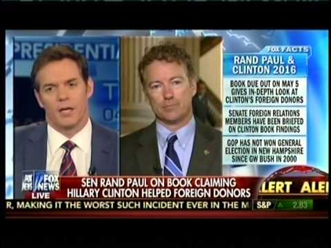 Sen. Rand Paul Appears on America's Newsroom on Fox News - April 21, 2015