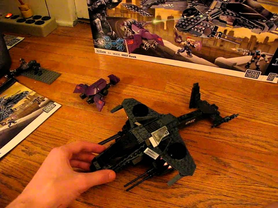 Unsc Hawk Halo Mega Bloks Unsc Odst Hawk