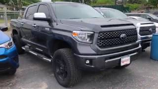 2018 Toyota Tundra Platinum Lifted