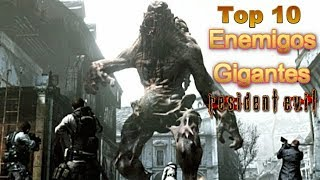 Top 10: Enemigos Gigantes de Resident Evil