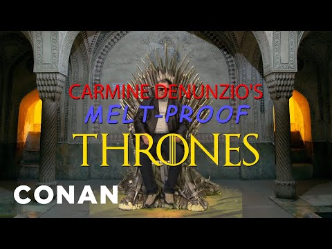download lagu Carmine Denunzio's Melt-Proof Thrones - CONAN on TBS gratis