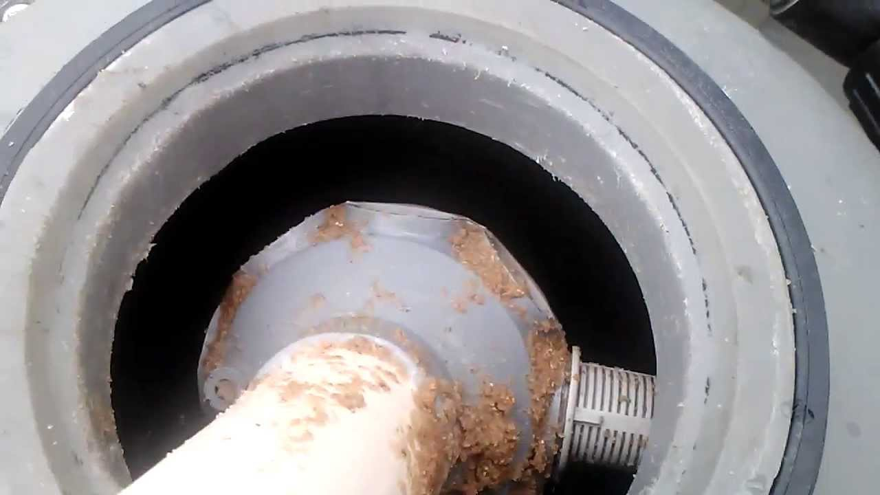 Swimming Pool Sand Filter Sand Change Part 1 Youtube