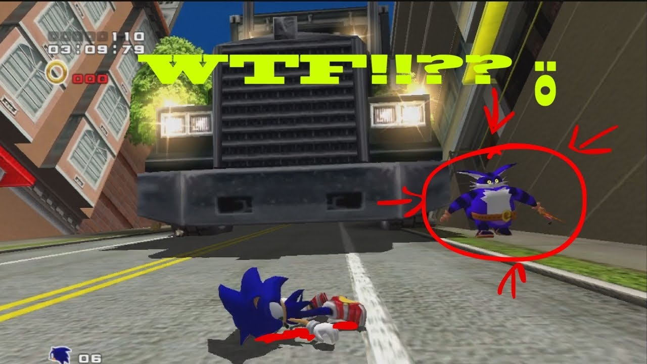 Sonic Adventure 2 Easter Eggs Sonic Adventure 2 hd Ps3