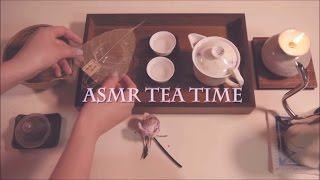 (ENG)ASMR. 자정의 티타임Midnight Tea Time ⚘Whispering⚘Binaural