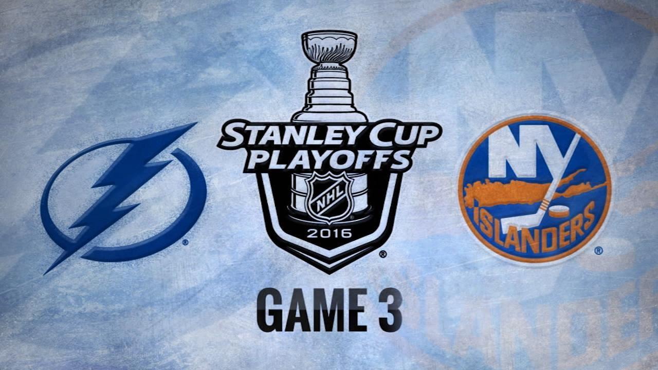 Boyle's OT winner leads Bolts past Isles in Game 3