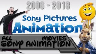 All Sony Animation Movies 2006-2018