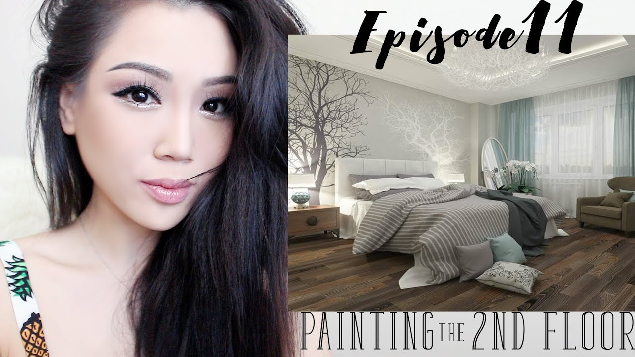 HOME MAKEOVER| Painting the 2nd Floor
