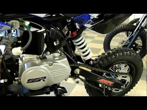 SSR PIT BIKE SR110-SEMI by HIGH STYLE MOTORING - PRODUCT DEMO and INFO (562) 945-8361 DIRT BIKE SALE