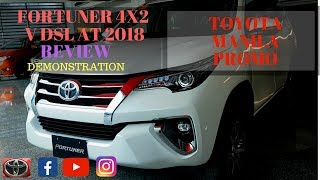 TOYOTA FORTUNER 4X2 V DSL AT 2018 | REVIEW | DEMONSTRATION