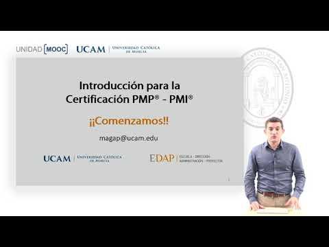 Curso MOOC Introducción Certificación PMP-PMI - Presentación