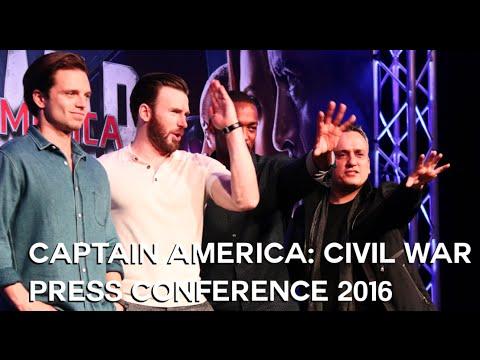 Captain America: Civil War Singapore Press Conference 2016