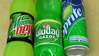 Difference between [Sprite] [Mountain Dew] [Uludağ Gazoz]