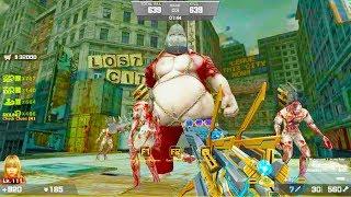 Counter-Strike Nexon: Zombies - Zombie Scenario Mode online gameplay on Lost City map (Hard6)