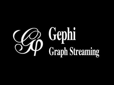 Gephi: Graph Streaming in action