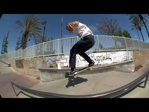 Mason Silva Mobbin' Around at Paramount Skatepark