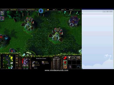 Partida Personalizada - Warcraft III - The Frozen Throne - Game Play MiVideoMundo.com