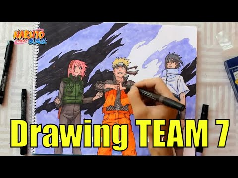Team 7 Drawings Drawing Team 7 Naruto