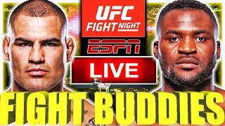 UFC FIGHT NIGHT NGANNOU VS VELASQUEZ VICK VS FELDER LIVE FIGHT REACTION!
