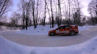 Mitsubishi Evolution X Snow drift | Mitsubishi Evolution 10 Snow drift | RALLY