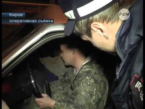 В Кирове задержан самый упрямый водитель
