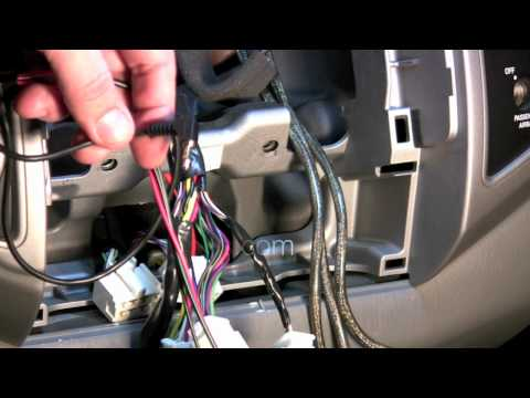 How to install Steering Wheel Controls in Toyota Tacoma Double Acces Cab 2005 2014
