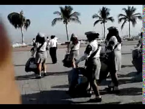 banda de guerra de la secundaria general n°1