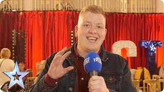 Quickfire questions with GOLDEN BUZZER act  Gruffydd Wyn Roberts   BGT 2018