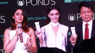 Ileana D'Cruz & Amy Jackson At Launch Pond's Pimple Clear Face Wash