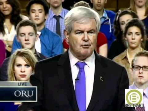 Gingrich: Defeating Obama 'Most Dangerous President in US History' a 'Duty Of National Security'