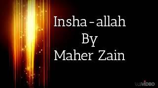 In sha Allah by Mayer Zain