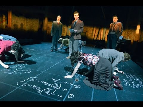 A dramatic experiment: science on stage