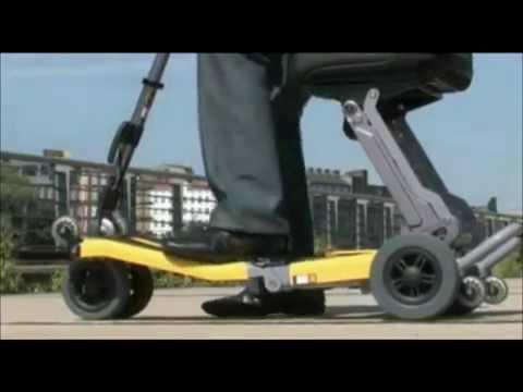 Scooter eléctrico de movilidad plegable Luggie