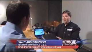 KMOV St Louis showing RFID credit card cloning