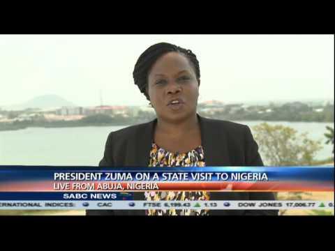 President Zuma's state visit to Nigeria: Sophia Adengo reports