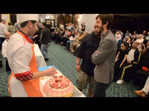 Pastry Chef Duff Goldman - Algeria Competition 05 17 2013