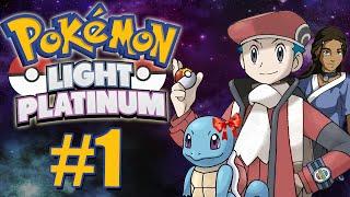 Pokémon Light Platinum #1 - O Início da Jornada / Bem Vindo a ZHERY!!