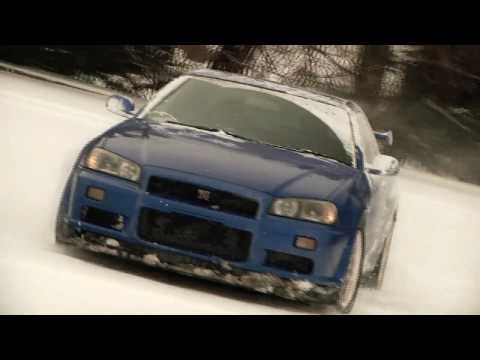 Snow Day in Jersey with a Skyline (R34)