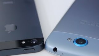iPhone 5 vs HTC One Series Camera Comparison