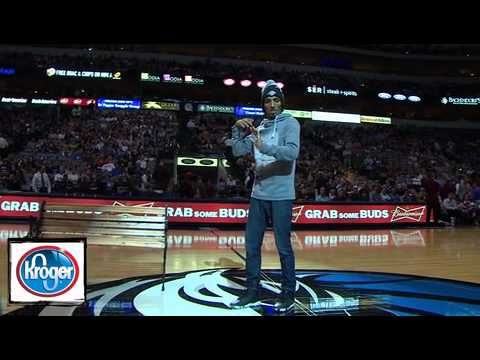 Marquese Scott Halftime NBA Show Dallas vs Portland Nov 5, 2012 Music Videos