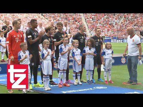 FC Bayern: Teampräsentation 2014 - Lewandowski, Reina und die Weltmeister