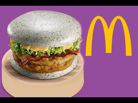 McDonald's Unveils Their New Grey Bun Burger