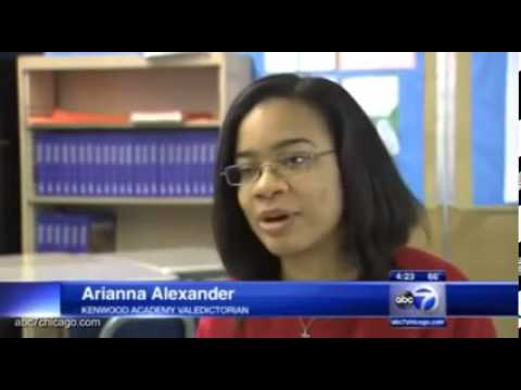 Chicago student describes being accepted to 26 different colleges(VIDEO)