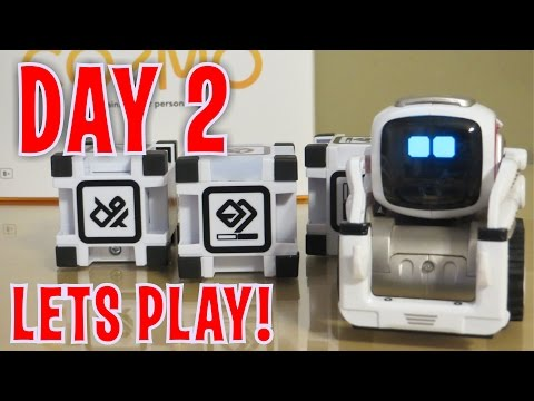 Cozmo - Day 2: LET'S PLAY with Anki's New Robot (FULL REVIEW!)